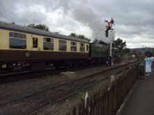 Gloucestershire and Warwickshire Steam Railway at Toddington.