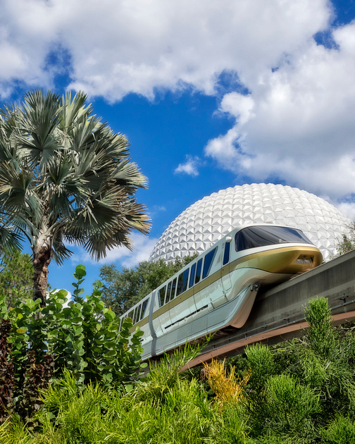 MLCreations Photography: Blog Post Related &emdash; Monorail Jungle