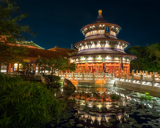 MLCreations Photography: Epcot &emdash; Lighted Temple