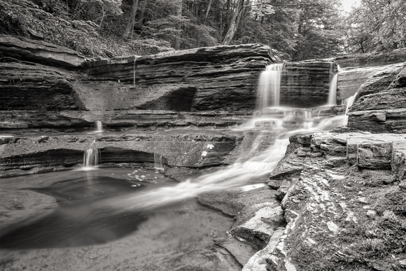 MLCreations Photography: Buttermilk Falls &emdash; Down the Drain