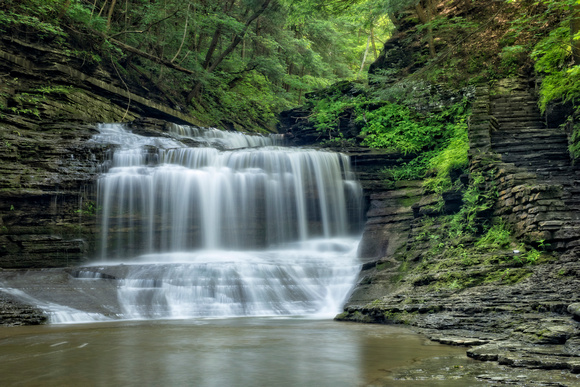 MLCreations Photography: Buttermilk Falls &emdash; Up & Down