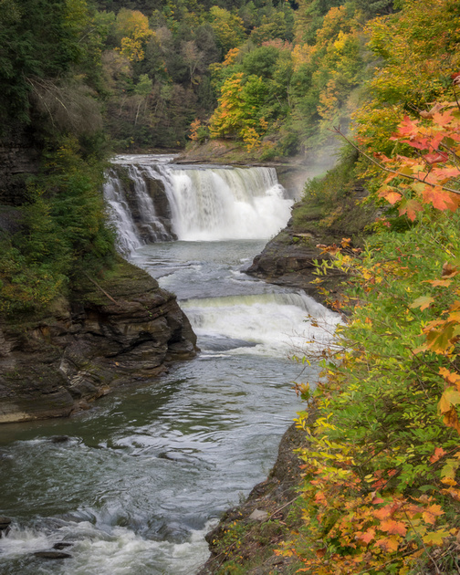 MLCreations Photography: Letchworth &emdash; Falls Colors