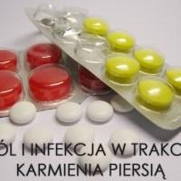 Ból i infekcja w trakcie karmienia piersią