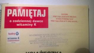 Zalecenia w książeczce 2008