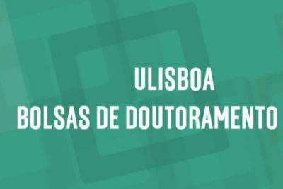 Concurso | Bolsas de Doutoramento da ULisboa