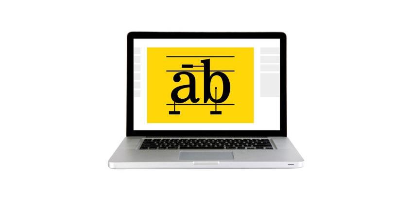 Uso de la tipografía en diseño web