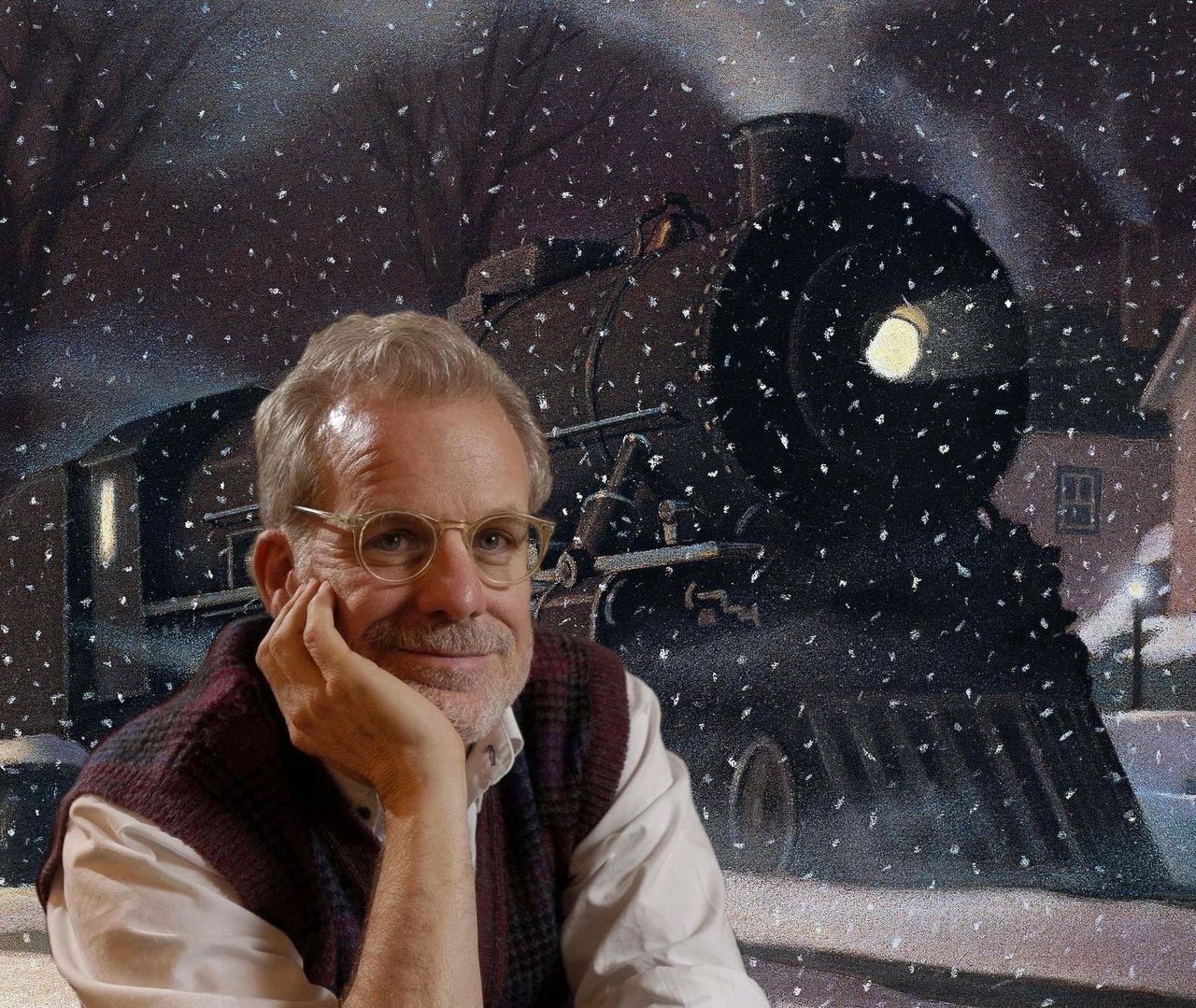 The Polar Express Author Chris Van Allsburg Brings Early