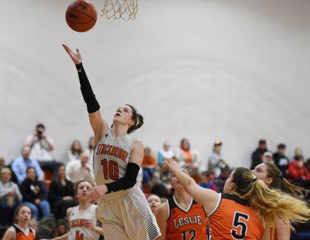 Leslie vs Stockbridge Women's Basketball