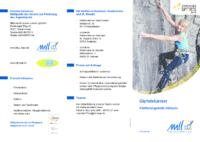 Flyer FI – Klettern 2018
