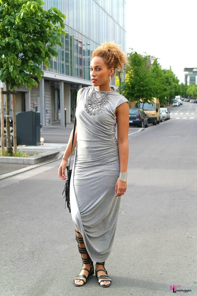 Robe drapée H&M