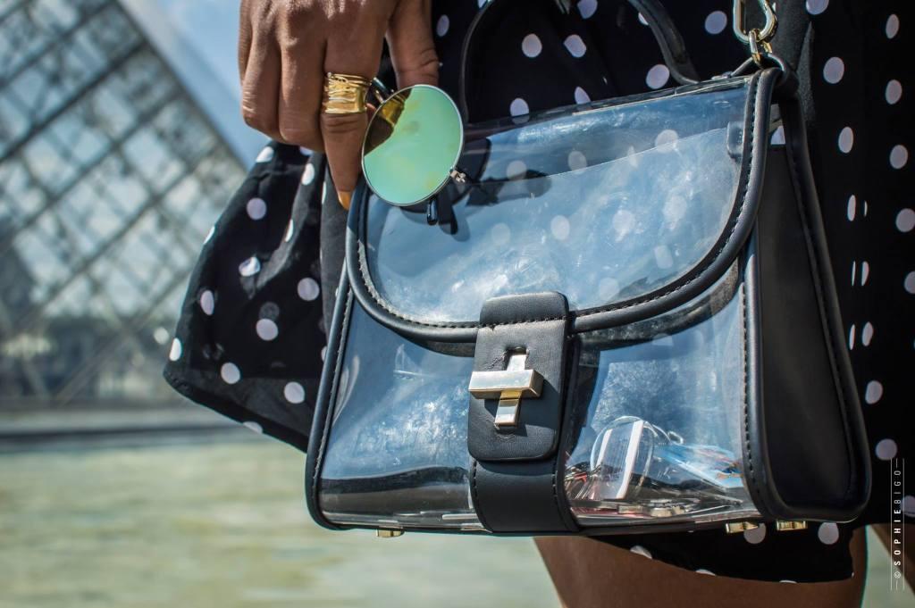 sac transparent ZARA