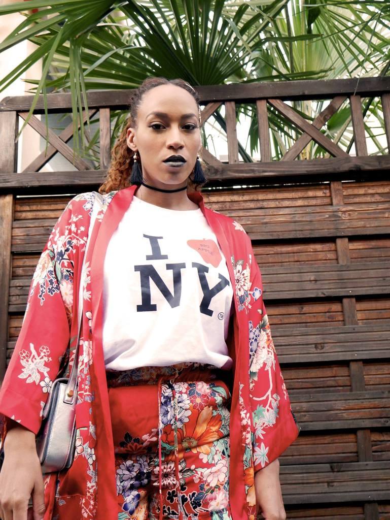 ensemble kimono bershka