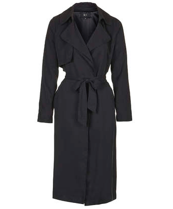 Trench long TOPSHOP 90€