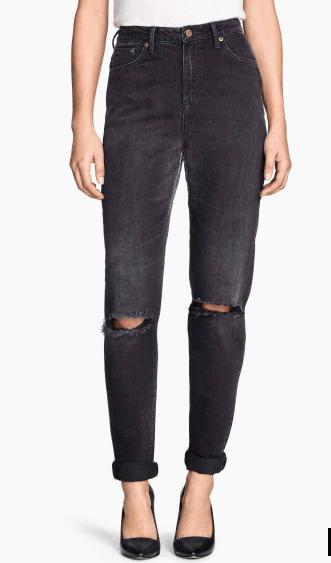 Le mom déchiré jean H&M 29,90€