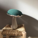 coussin musical champignon