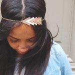 Un bijou dans les cheveux