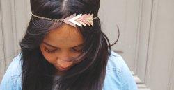 headband cheveux géométrique blog mllebride