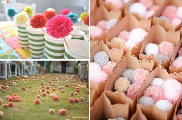 decoration-mariage-inspiration-pom-poms