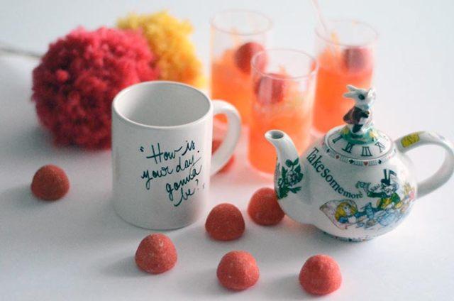 Une recette de pamplemousse aux fraises tagada