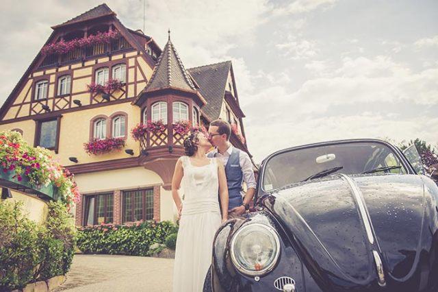 Mariage surprise en Alsace