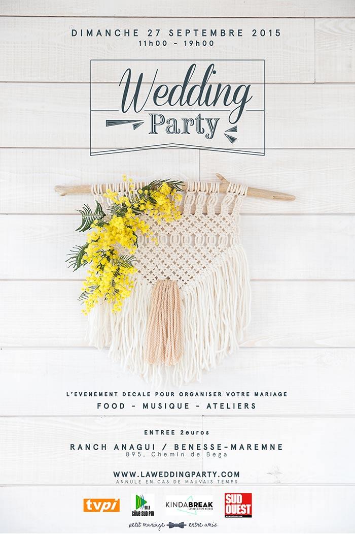 La wedding party