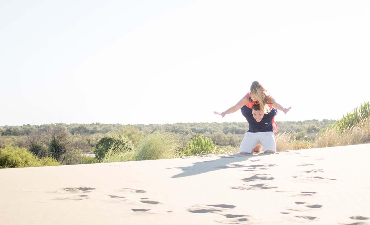 love session dans les dunes