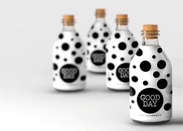 Packaging Leche, GOOD DAY Milk by not available design