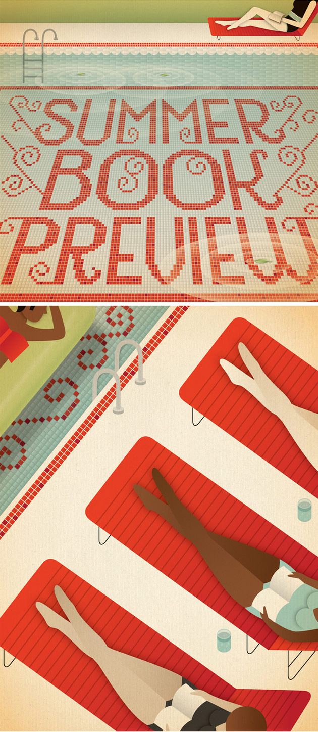 Summer Book Preview by Jessica Hische