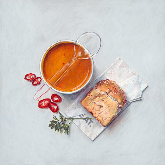 Eat soup by Penkman