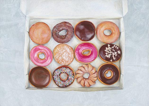 Krispy Kreme dozen by Penkman