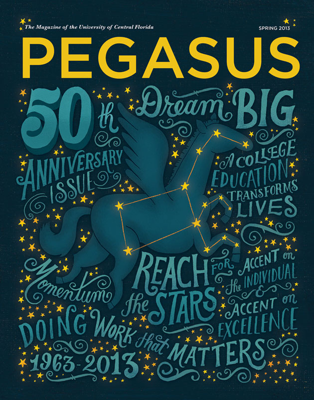 Pegasus Magazine by Mary Kate McDevitt