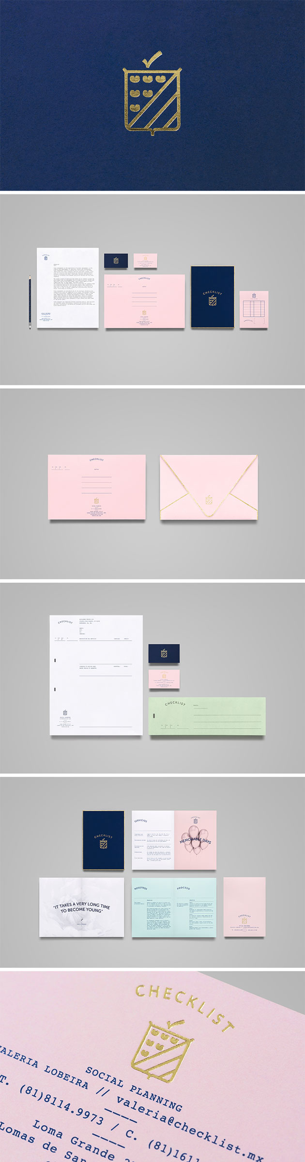 Checklist Corporate branding by Anagrama