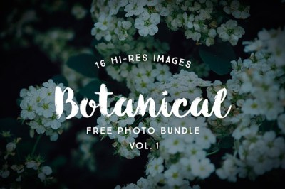 Free Botanical Photo Bundle by Graphic Goods | Recursos gratuitos de junio para diseñadores | mlmonferrer.es