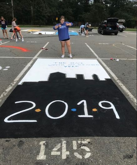 How To Paint Your Parking Spot Demonstrated By Seniors Who Just Did The Mountaineer