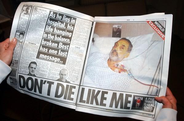 George Best umiera
