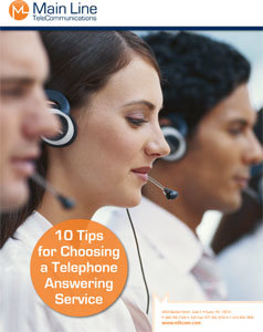 10 Tips to Choose a Telephone Answering Service