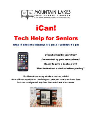 iCan Tech Help for Seniors