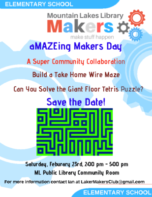 ML Library Makers Club – Maker Day
