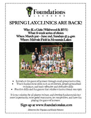 Spring Foundations Lacrosse