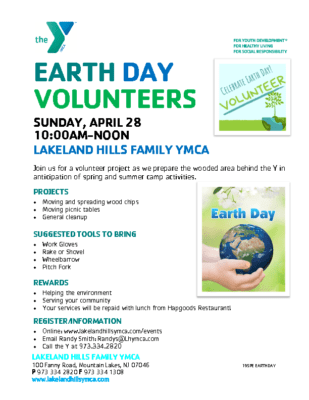 Earth Day Volunteers – Clean Up 4.28.19