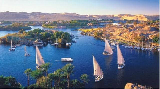 موضوع تعبير عن نهر النيل بالعناصر ملزمتي