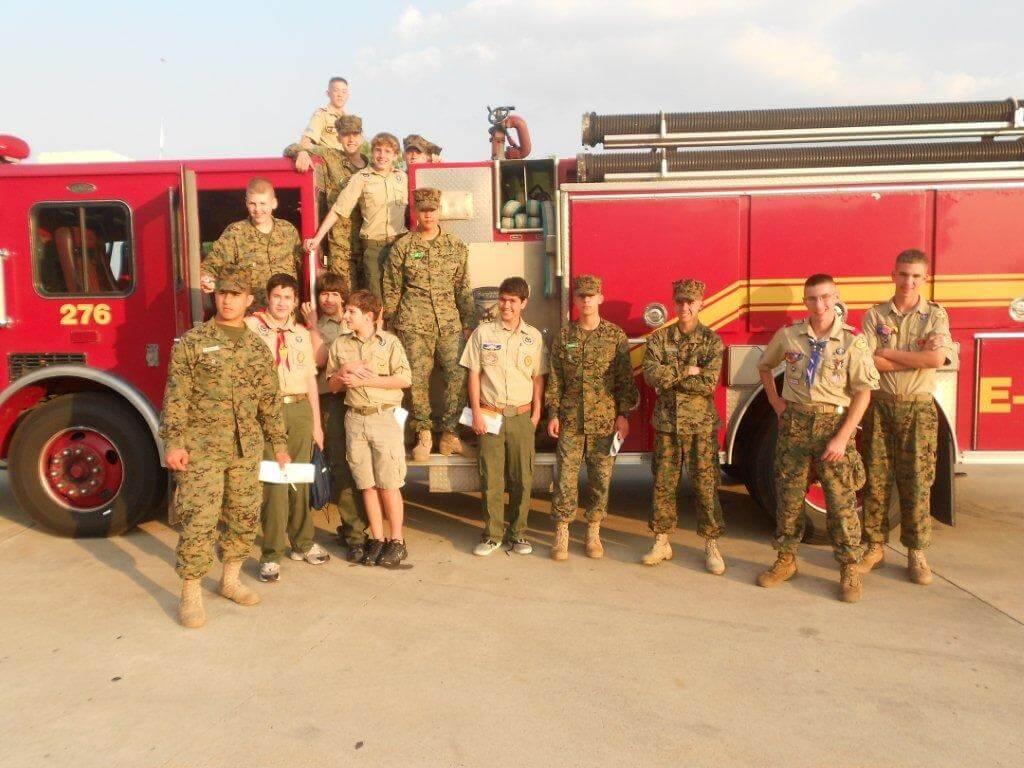 Boy Scouts Troop 22 News Fire Safety Part Ii