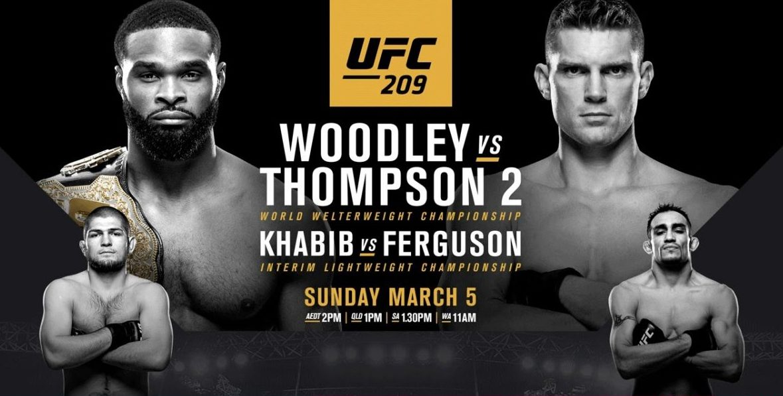 UFC 209: Woodley vs Thompson 2 predictions