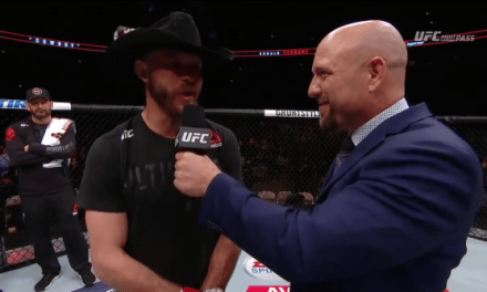 UFC Fight Night 126: Cerrone puts away Medeiros in the first round