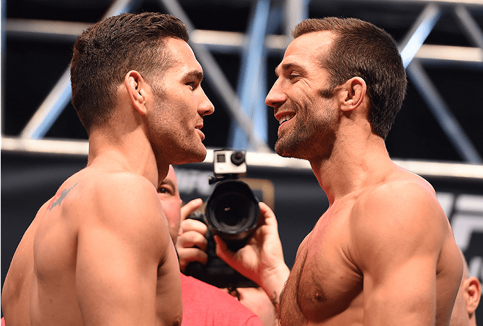 UFC 230: Luke Rockhold and Chris Weidman collide again