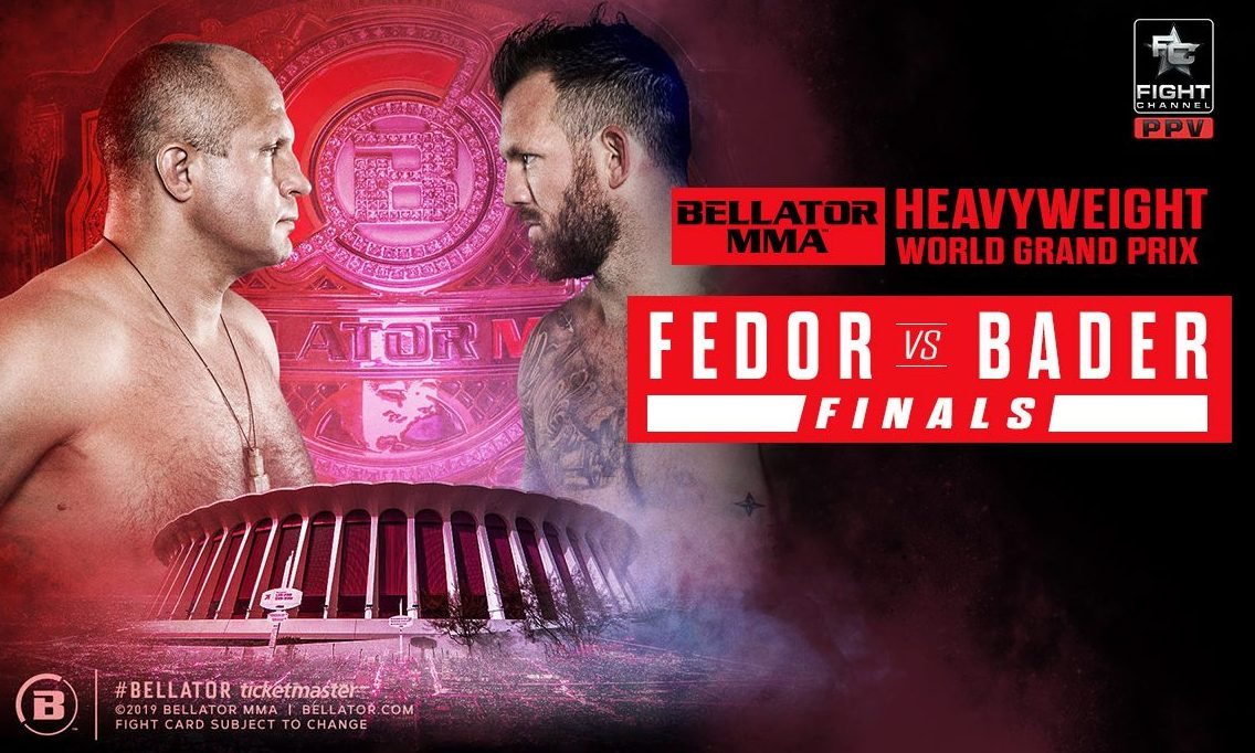 Bellator 214: Ryan Bader stops Fedor Emelianenko early to become Bellator's first dual-division champ