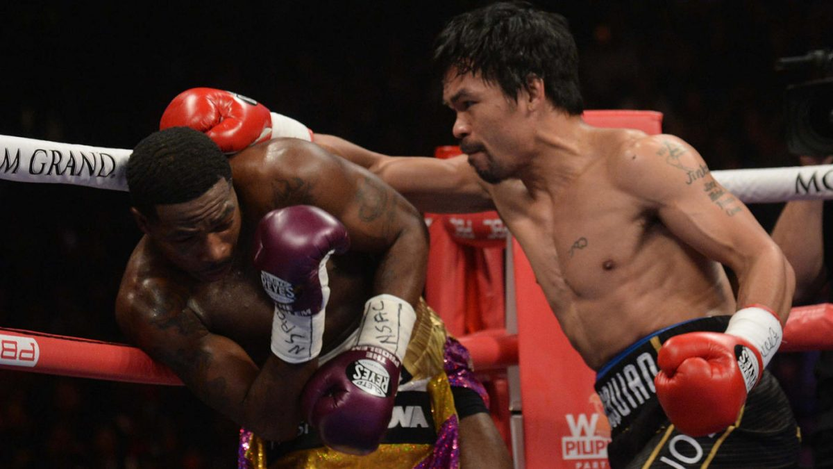 "Claressa Shields disappointed in Adrien Broner ""not giving his all"" against Manny Pacquiao"