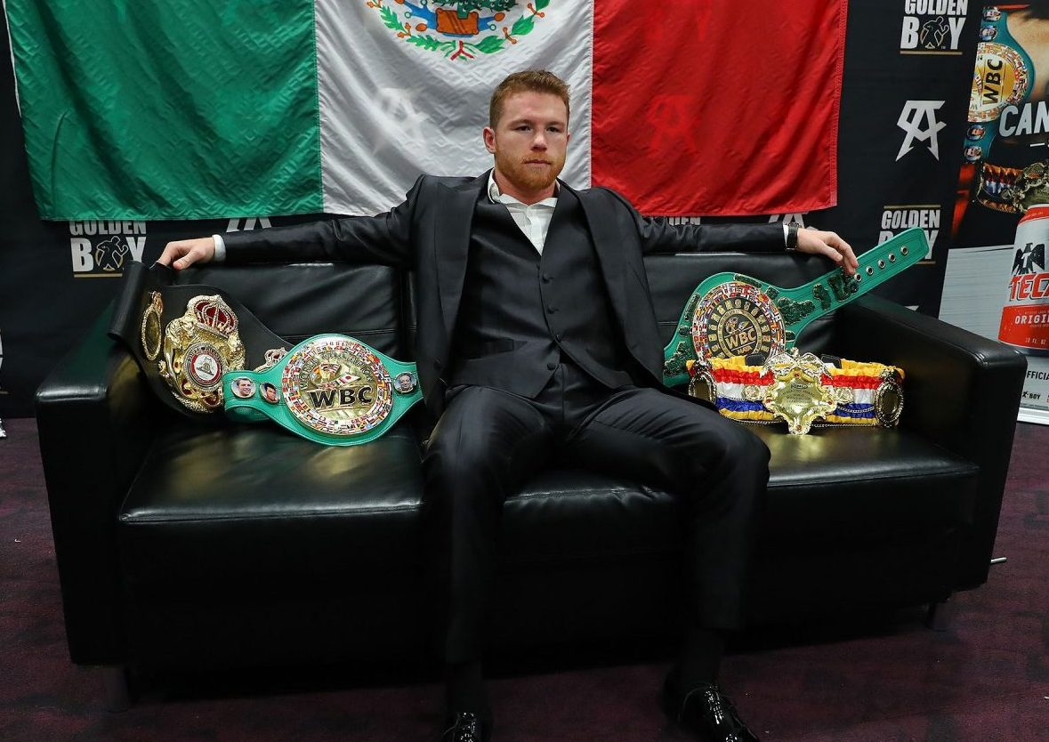 Canelo Alvarez unites middleweight belt with decision win over Daniel Jacobs
