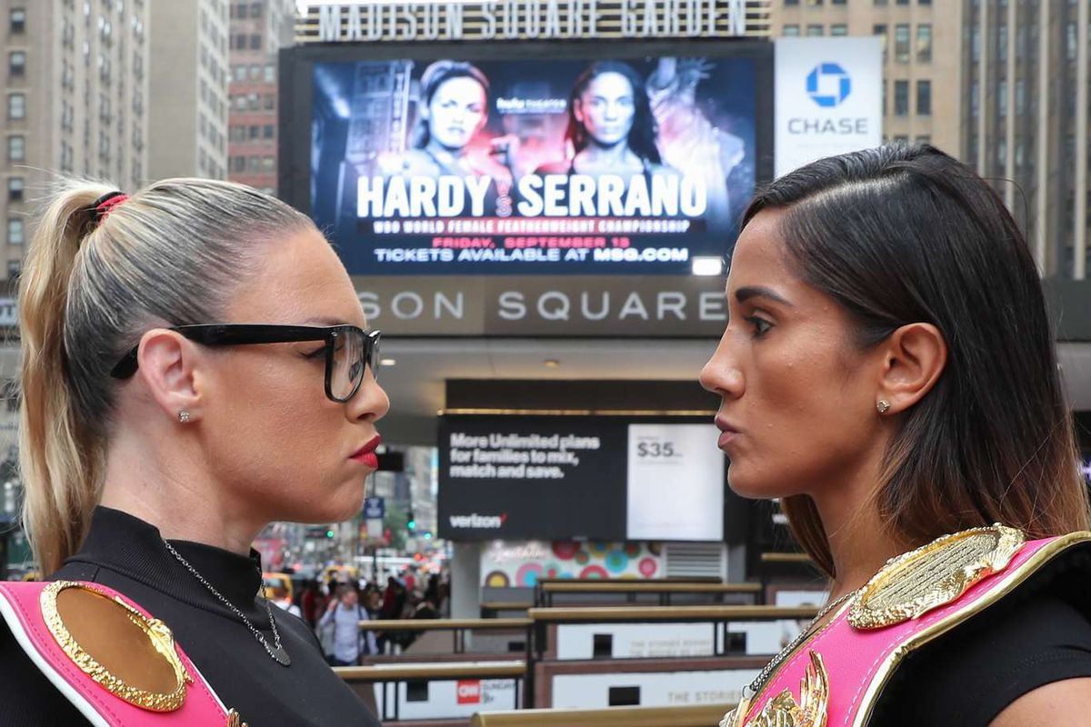 Heather Hardy and Amanda Serrano to settle WBO featherweight crown in NYC on Sept. 13