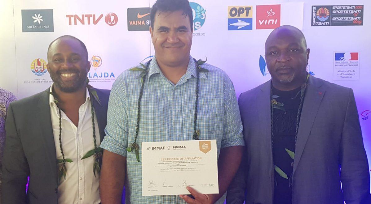 IMMAF recognizes French Polynesia's FPLAJDA